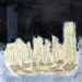 JV ESCALANT,Black sky at Manhattan, 30x30 cm